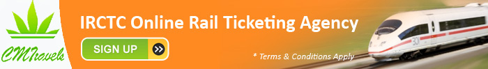 Rail ticketing agency with CMT travels